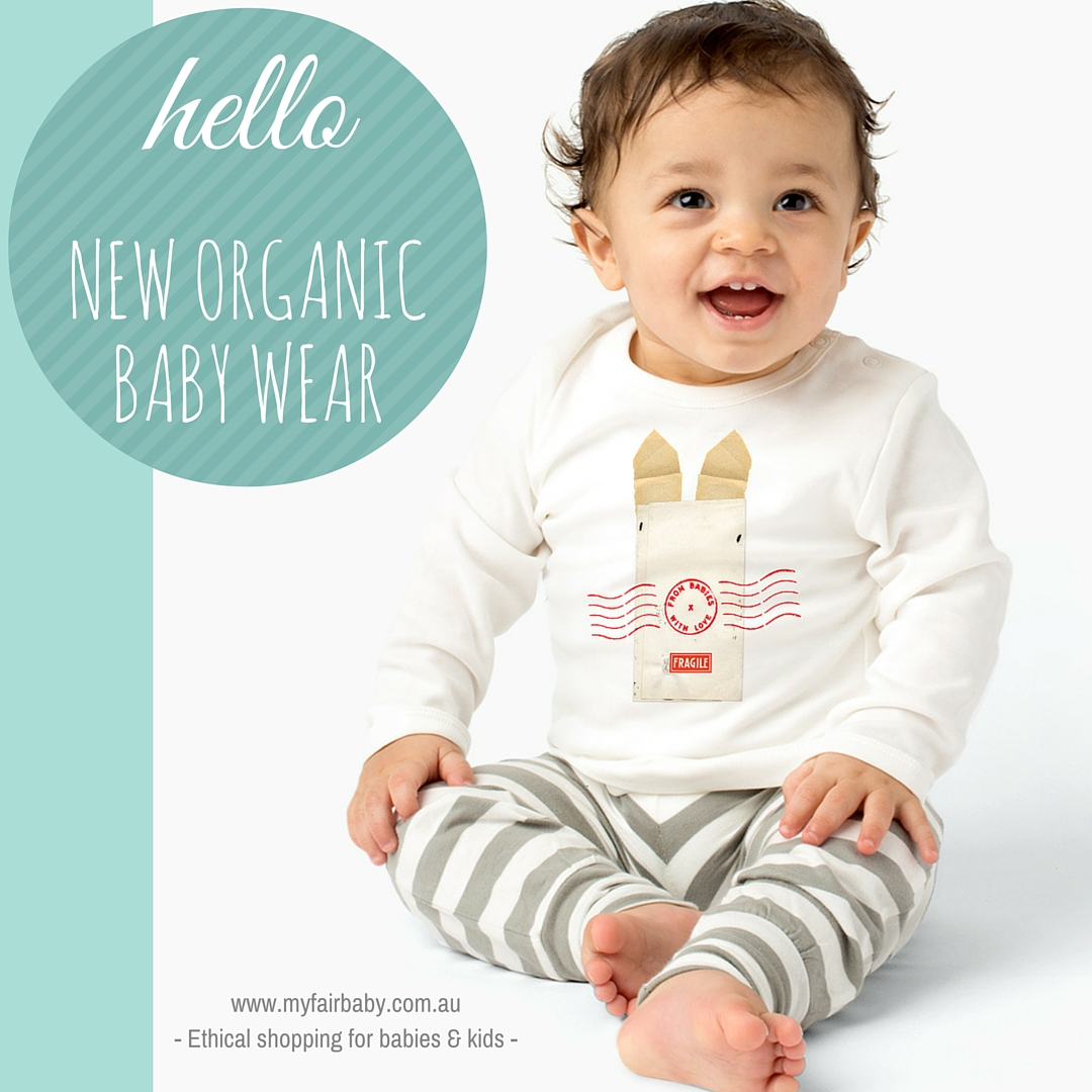 Hello New Organic Baby Wear