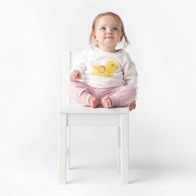 Organic Baby Top - Duck