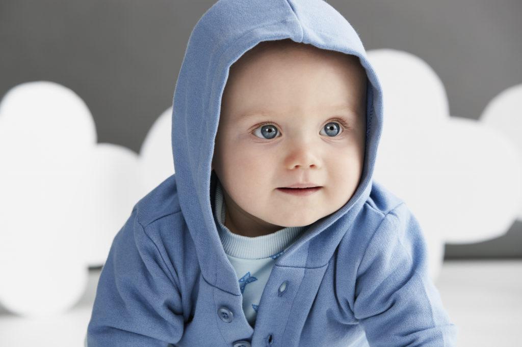 organic baby hoodie