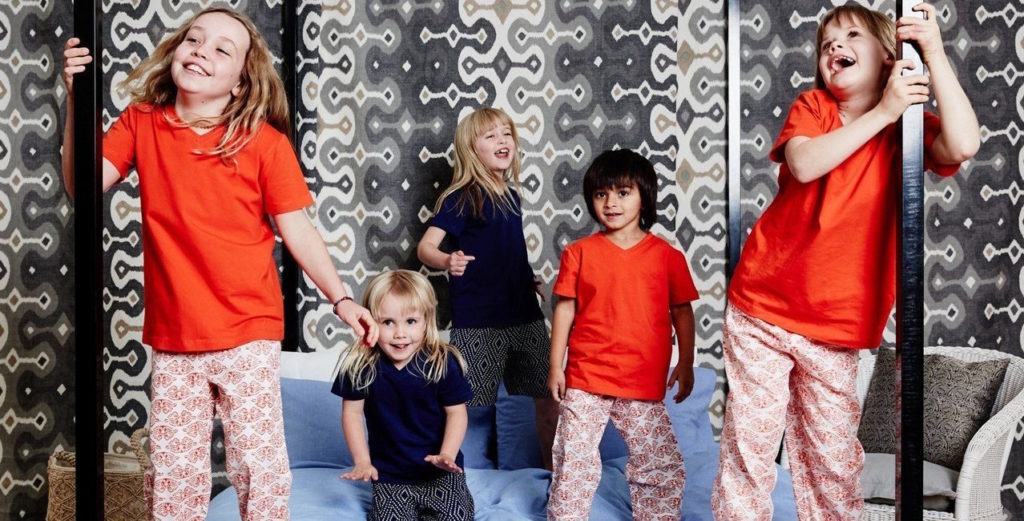 organic kids sleepwear