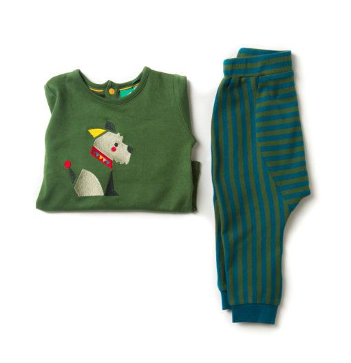 organic baby top and pants set