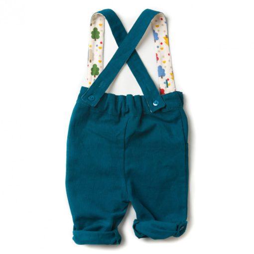 organic cotton corduroy overalls
