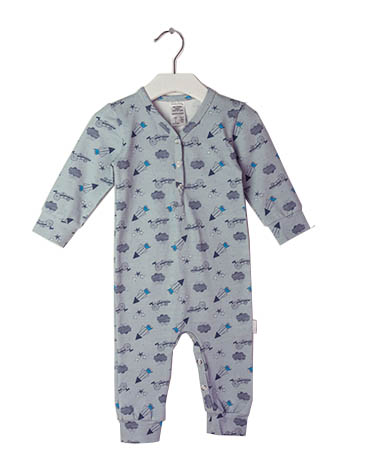 Baby Growsuit made from certified GOTS cotton